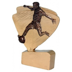 Mini odlievaná figúrka RFEL5004 zlatá Futbal