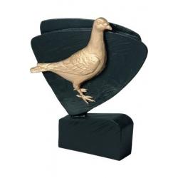 Mini odlievaná figúrka RFEL5031 čierna - holub