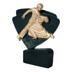 Mini odlievaná figúrka RFEL5034 čierna - tanec