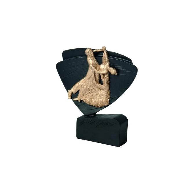 Mini odlievaná figúrka RFEL5019 čierna - tanec