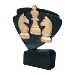 Mini odlievaná figúrka RFEL5029 čierna - šach